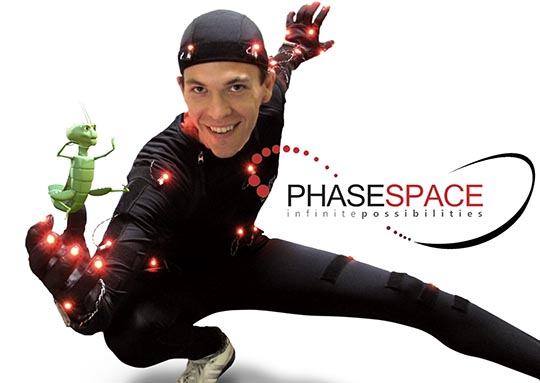 Phasespace Motion Capture Suit with Bok Choi